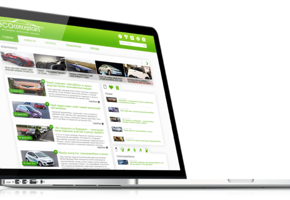 Full Stack Web Development on CMS WordPress for Auto Magazine Ecoconceptcars