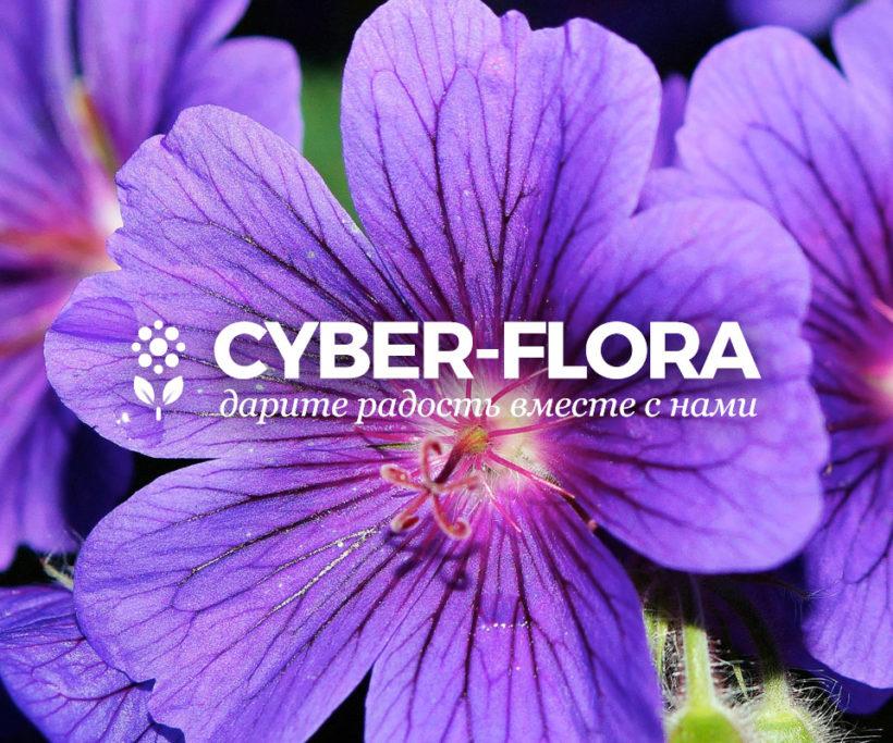 Cyber-Flora Logo