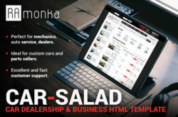 Car-Salad - Car Dealership & Business HTML Template