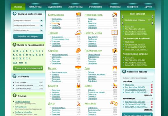 Full Stack Web Development on CMS 1C-Bitrix for Online Catalog Store IDOO