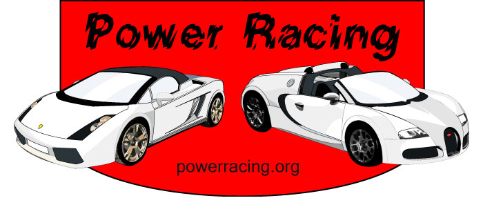 Vector Illustration Power Racing