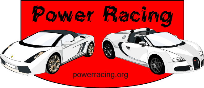 Vector Illustration Power Racing