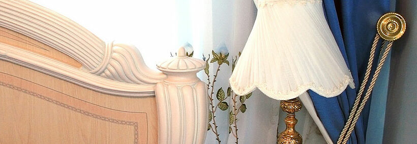 Web Design of Curtains and Details Online Store