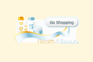 Web Banner Ad Go Shopping for TanZone