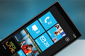 Web Design of Blog About OS Windows Phone 7