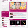 MakeUp Atelier Shop PSD Template