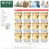 Bond – HTML template for a Property Management and Letting Agency