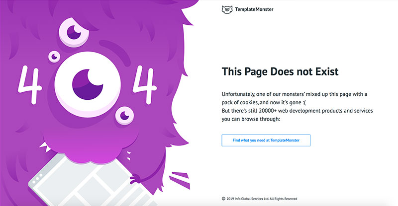 20 Creative Web Design Of 404 Error Pages
